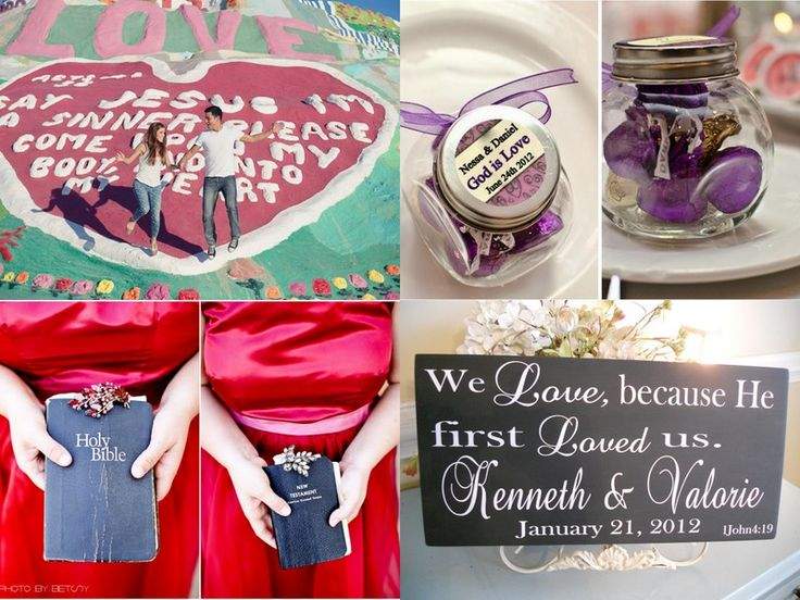 Christian Themed Inspiration Board Seen On EverythingWeddingsAndMore