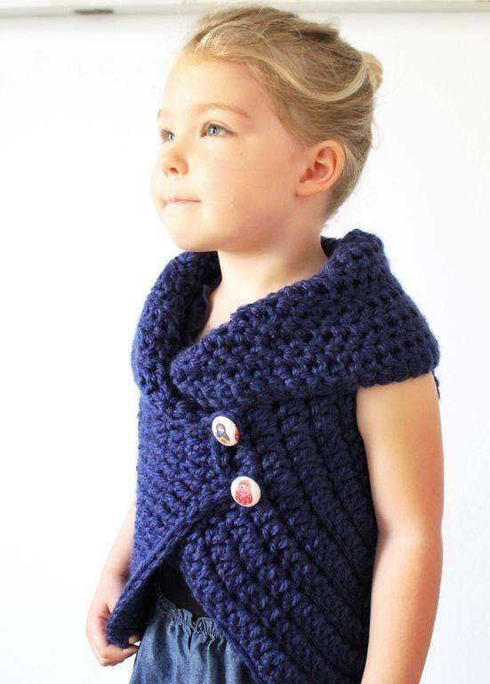 The Julia Sweater, crochet pattern - via Craftsy