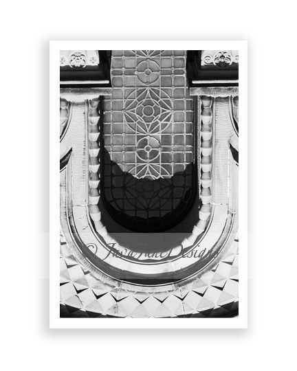letter u in architecture by java jane designs