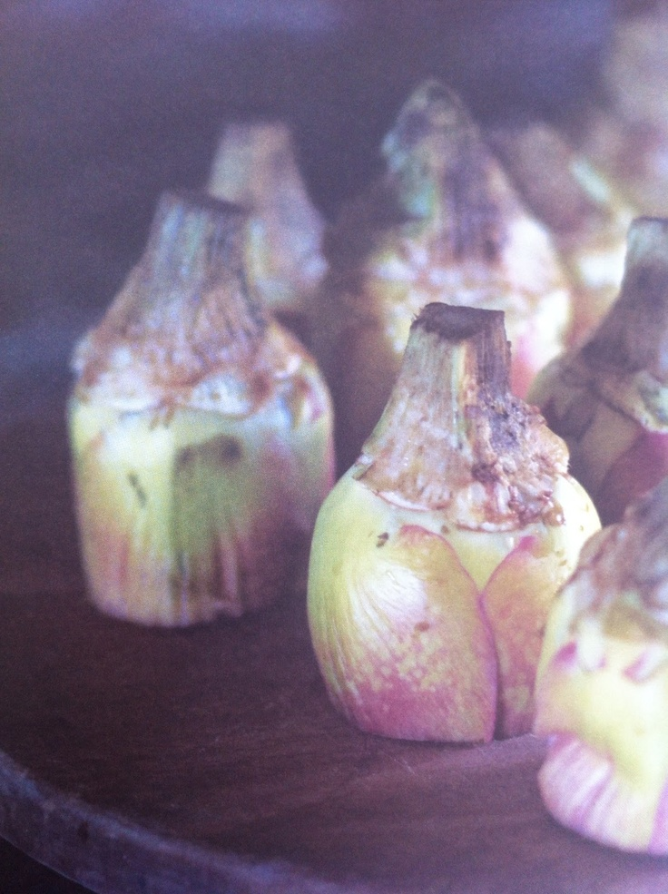 Roost Living: Artichoke Season, Pan-Cooked Artichokes