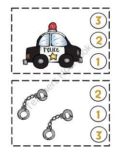Preschool Printables: Toddler Police Printable