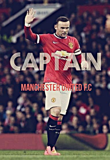 Wayne Rooney,Captain, 2014-15.