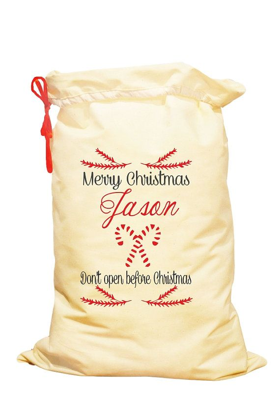 Personalised Christmas Stocking Christmas by SpecialEmbroideryKT
