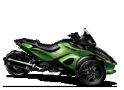 Spyder RS & RT: Luxury 3 wheel Motorcycling | Can-Am Roadster
