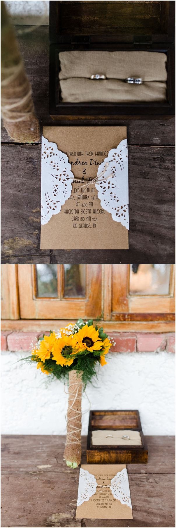 wedding renewal invitation ideas%0A rustic lace and burlap wedding invitations for country wedding ideas