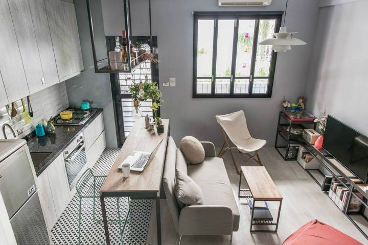 Live comfortably in a small space such as a studio apartment isn't impossible. MII design studio designed this ingenious tiny studio in Taipei, Taiwan. The project is a 30sqm single female...