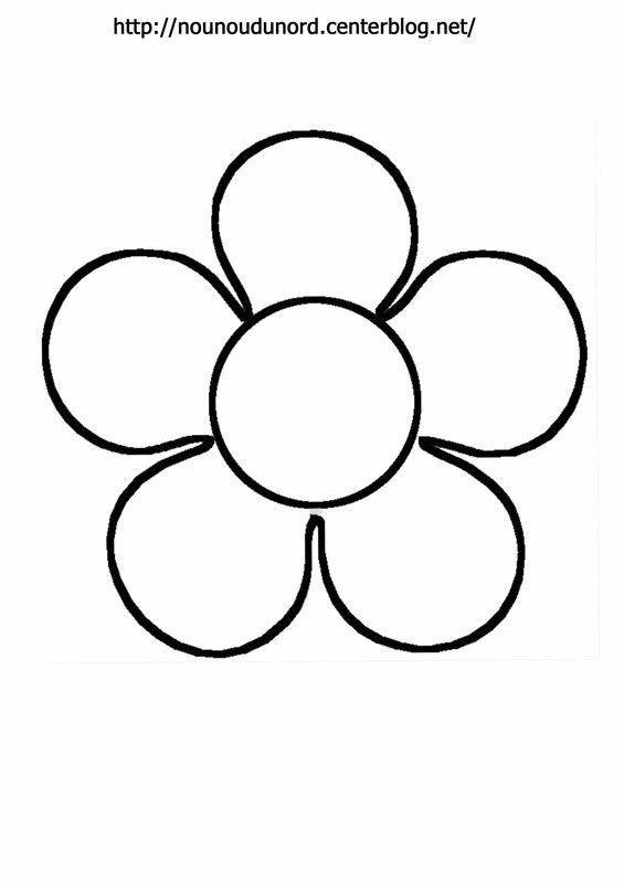 Coloriage Bebe Fleurs.Fleur A Colorier A Gommettes En Couleur Jaune Projets A Essayer