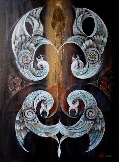 Robin Slow Maori Art Kura Gallery 514