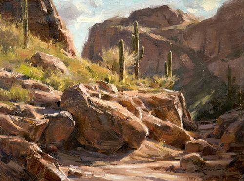 """""""Black Butte Light"""" Mitch T. Baird OPA $1,900 12"""" x 16"""""""