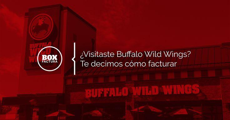 Tutorial para facturar en Buffalo Wild Wings