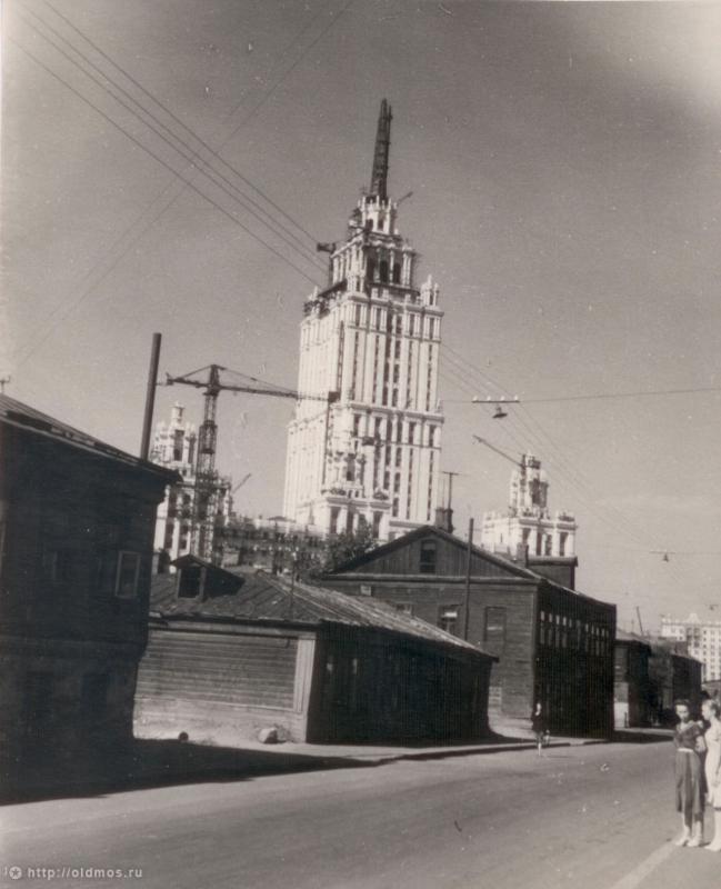 Фотография - 1-й Луговой переулок - Фотографии старой Москвы
