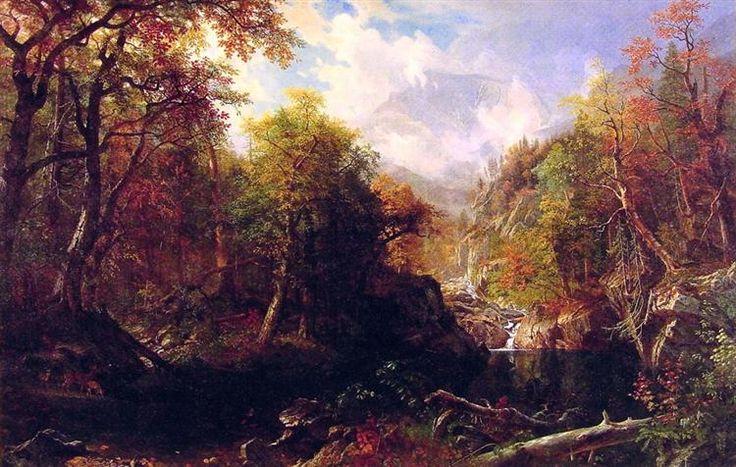 The Emerald Pool - Bierstadt Albert