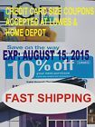 (10) 10% Off Lowes Coupons Home Improvement Depot Blue Card. Expires: 08/15/15 - http://couponpinners.com/coupons/10-10-off-lowes-coupons-home-improvement-depot-blue-card-expires-081515/