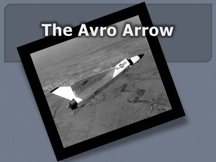 This dynamic powerpoint details the interesting story of the Avro Arrow.
