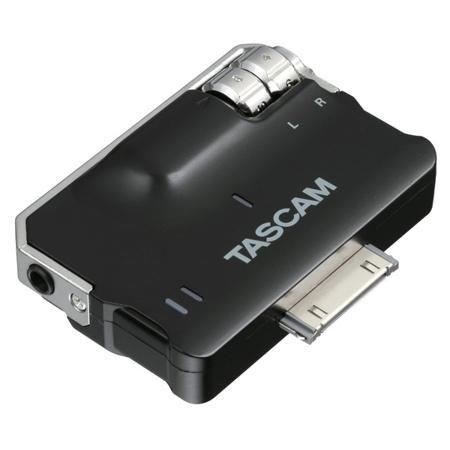 TASCAM iXJ2  — 7150 руб. —  Внешний мобильный интерфейс для различных iOS-устройств (список см. в описании). Можно использовать для живой записи, мобильной, для репетиций или записать звуковую дорожку в видеоролике. Встроенный лимитер, АЦП/ЦАП AKM AK5357 и операционный усилитель высокого класса JRC NJM4580. Выбор входа в трех режимах, бесплатное фирменное приложение TASCAM PCM Recorder, получает питание от iOS-устройств.