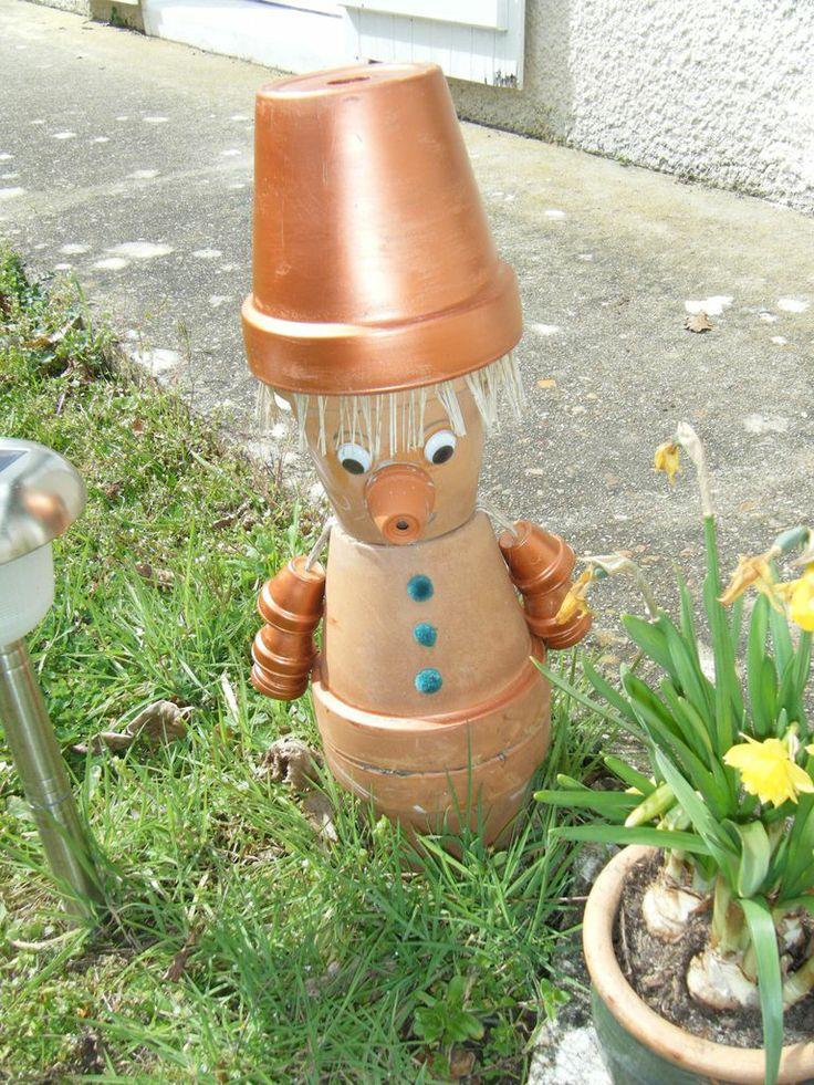 87 best personnages en pot de terre cuite images on pinterest clay pot crafts clay pot people