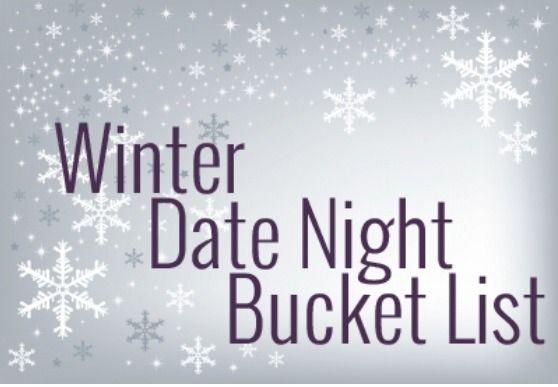 Winter Date Night Bucket List #Relationships #Trusper #Tip