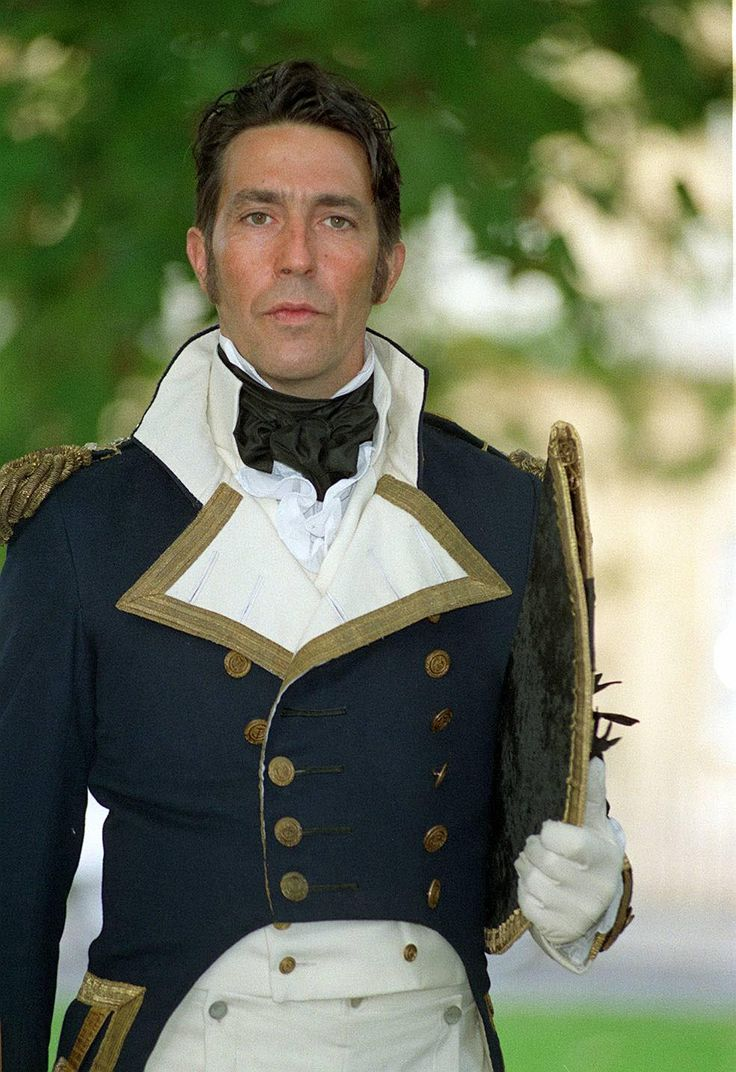 Ciaran Hinds as Captain Frederick Wentworth (Persuasion 1995) My favourite Jane Austen book, I adore this movie version.