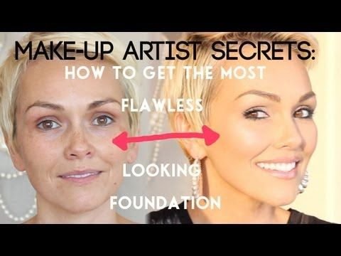 ▶ Makeup Artist Secrets: How to Look Airbrushed Without An Airbrush | Kandee Johnson - YouTube
