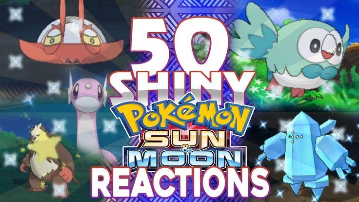 50 Live Shiny Pokemon Reactions! Shiny Living Dex 51-100 Pokemon X/Y, OR...