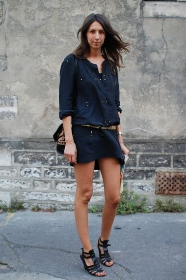 French Chic Geraldine Saglio Summer Style Streetstyle