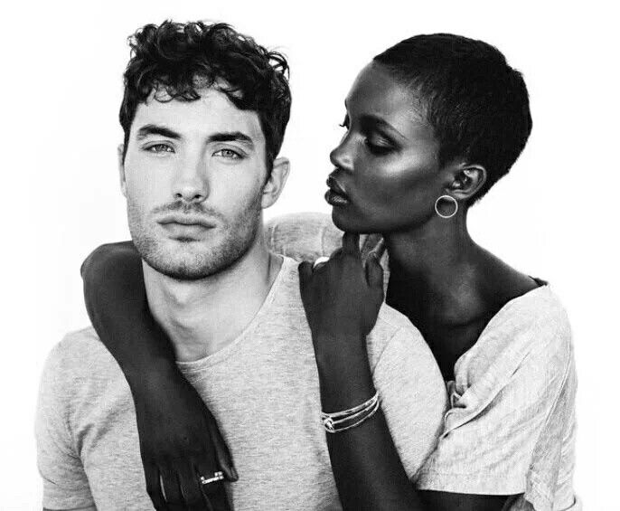 Beautiful interracial couple #love #wmbw #bwwm
