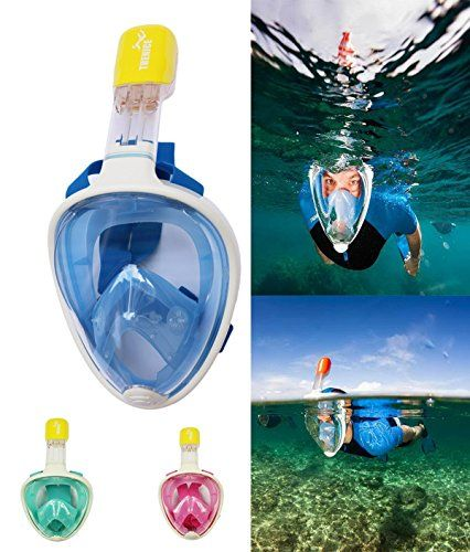 LC Prime (R) Easy Free Breath Surface Snorkeling Dive Swimming Full Face All Dry Mask Goggles Gear - http://scuba.megainfohouse.com/lc-prime-r-easy-free-breath-surface-snorkeling-dive-swimming-full-face-all-dry-mask-goggles-gear.html/