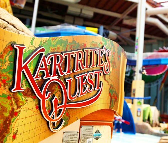 Camelback Lodge Indoor Waterpark Home: Travel On An Amazing Journey With Sir Kartrite Through
