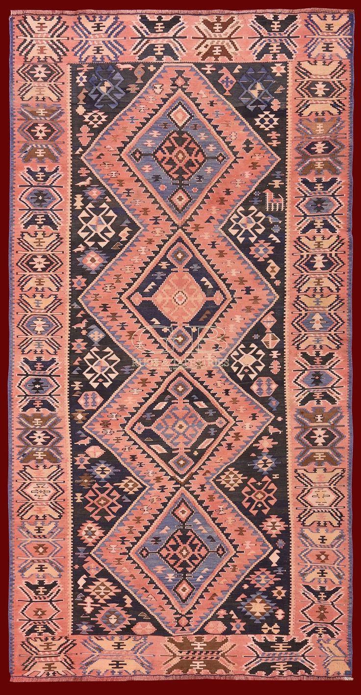 ANTIQUE SHIRVAN KILIM 324 x 165 | 140000000801 | GB Rugs