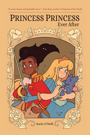 """Princess princess ever after"", by Katie O'Neill & Ari Yarwood & Fred Chao - When the heroic princess Amira rescues the kind-hearted princess Sadie from her tower prison, neither expects to find a true friend in the bargain. Yet as they adventure across the kingdom, they discover that they bring out the very best in the other person. They'll need to join forces and use all the know-how, kindness, and bravery they have in order to defeat their greatest foe yet: a jealous sorceress with a dire…"
