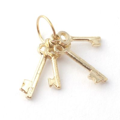 Minimum World D1919 Set of Brass Keys