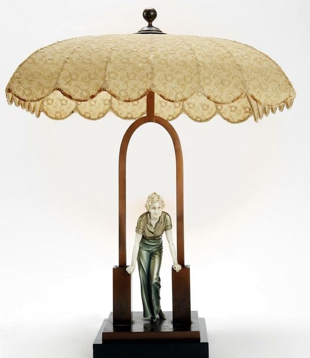 Pin By Dorothy Kroger On Art Deco Art Deco Lighting Art Deco Lamps