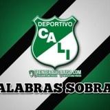 Wallpaper Deportivo Cali - Palabras Sobran