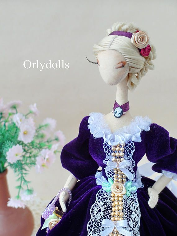 Lady Doll ♡ ♡By Orly Miniature