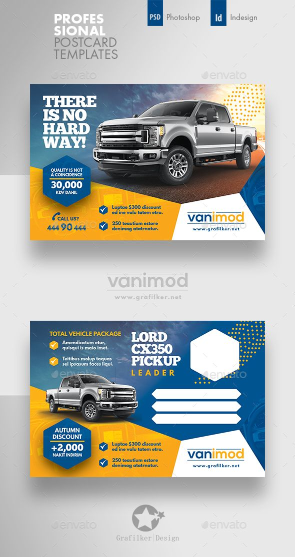 Car Sales Postcard Templates - Cards  Invites Print Templates
