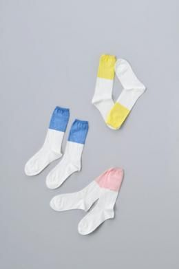 naruse pastel color socks