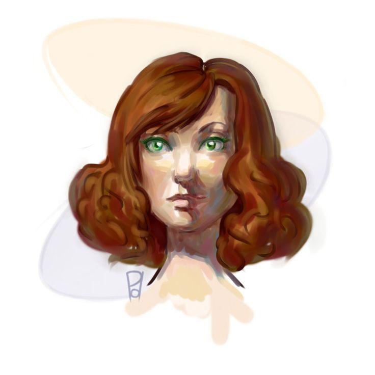 Random portrait 2 by PolaniL.deviantart.com on @DeviantArt