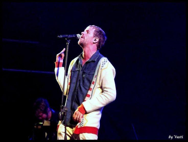 """Pierre Greeff - Lead singer of """"Die Heuwels Fantasties""""  performing at Innibos"""