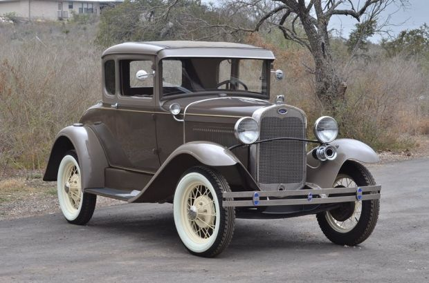 1930 Ford Model A Coupe   Old Car   Amazing Classic Cars