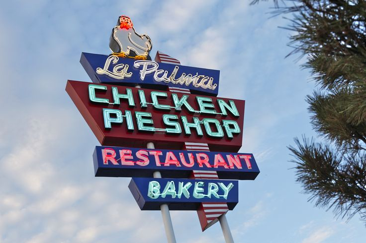 LaPalma Chicken Pie Shop, serving in Anaheim , since 1956 ... try it !!!
