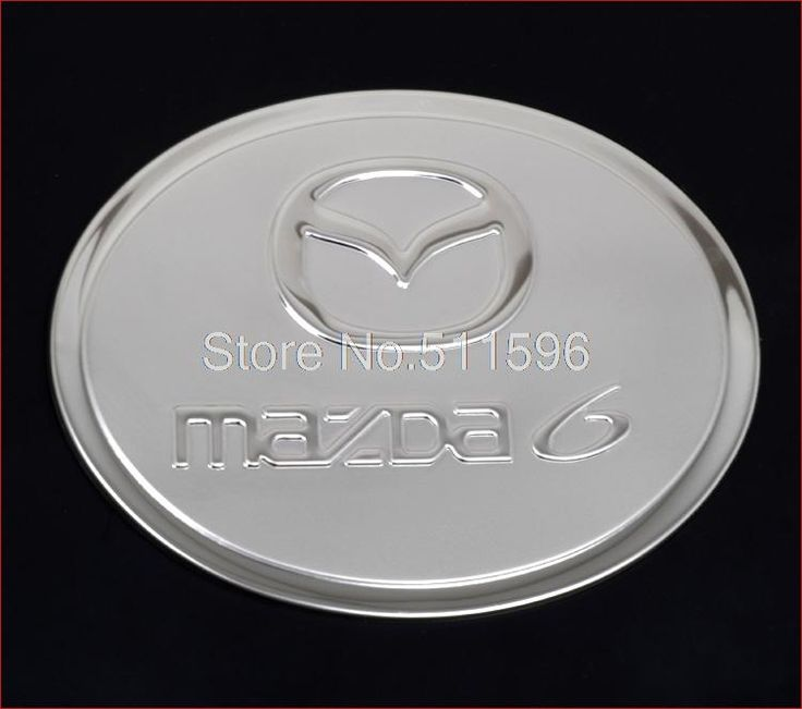 Для Mazda 6 2009 2010 нержавеющая сталь мазут газ контейнер крышка кепка отделка автоматический газ кепка масло контейнер планки украшение 1 шт.
