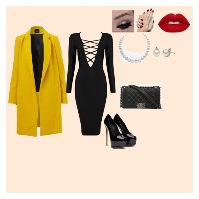 Untitled #13 by linda-mabaso on Polyvore featuring Posh Girl, Chanel, Lime Crime, women's clothing, women's fashion, women, female, woman, misses and juniors