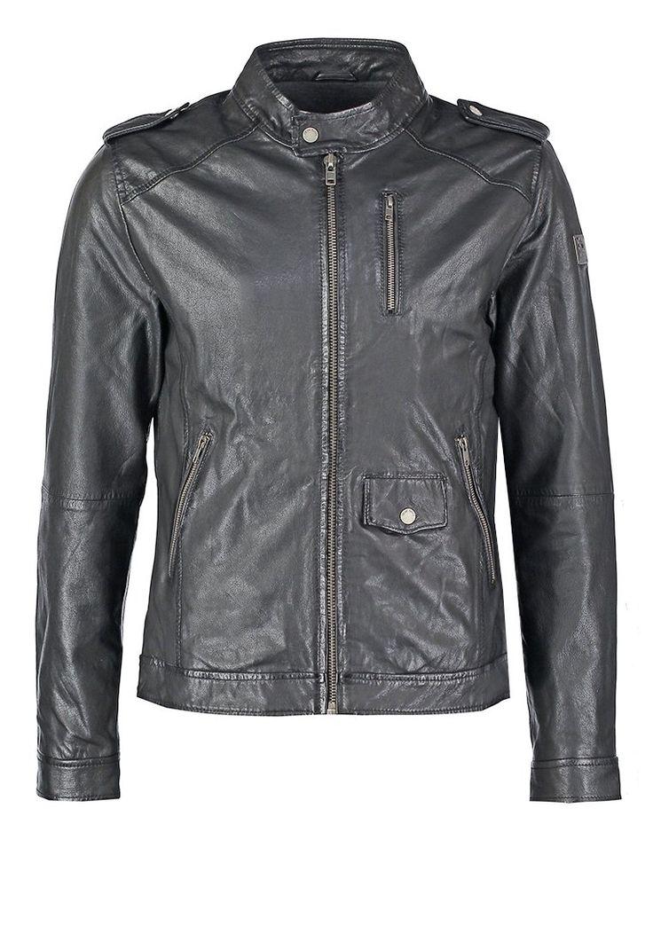 Freaky Nation PETE Kurtka skórzana black 480.35zł #moda #fashion #men #mężczyzna #freaky #nation #pete #kurtka #skórzana #męska #pete #black #czarny #skóra #przejściowa #wiosenna #jesienna