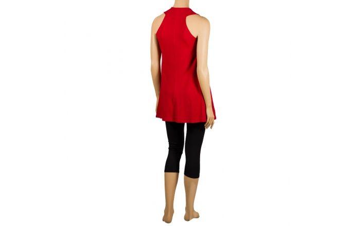 Camiseta larga roja de InstintoBcn #Casual #Ropa #Verano
