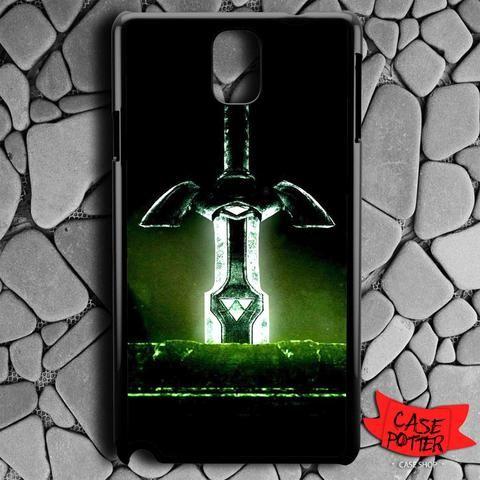 Light Swords Triforce Zelda Samsung Galaxy Note 3 Black Case