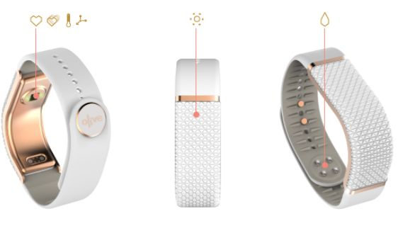Meet the Olive: a smart bracelet that helps you manage your stress. This innovative device tracks your physical indicators of stress