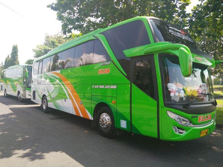 Bus Pariwiwisata Seat 50 SHD, Sewa Bus Jogja Murah Telp 082243439656