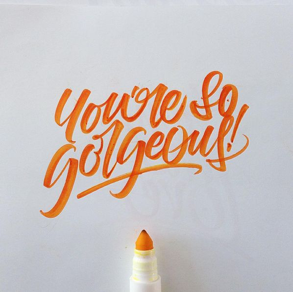 Crayola & Brushpen Lettering Set 3 on Behance