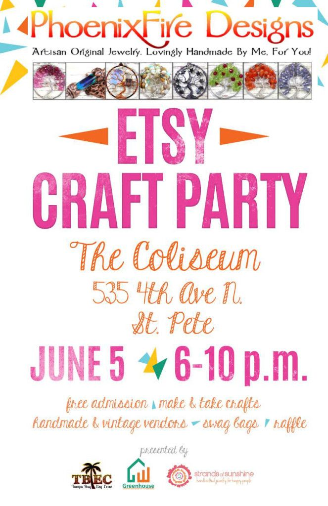 Etsy Craft Party Coliseum