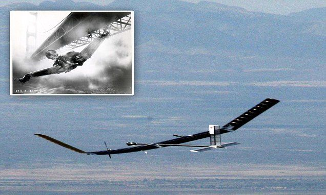 Drone that looks like a Star Trek spaceship! #DailyMail